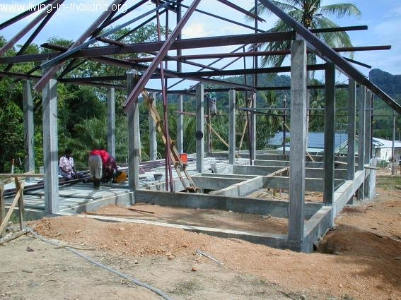 Building a House in Thailand 7