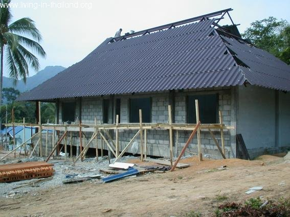 House in Thailand almost done