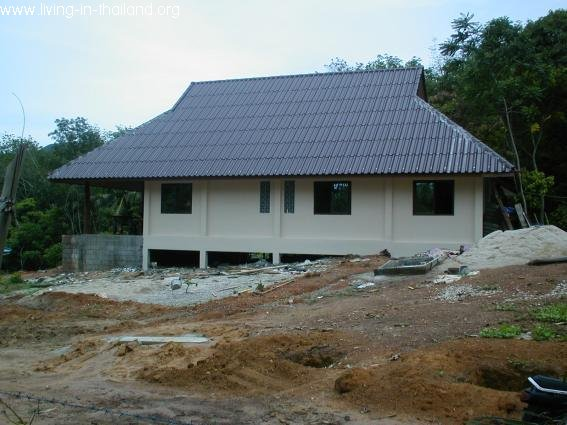10Building a House in Thailand