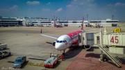 Airlines in Thailand | Air Asia at Bangkok Don Muang Airport