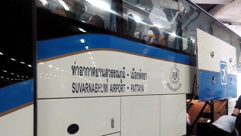 Bangkok Airport Pattaya Bus