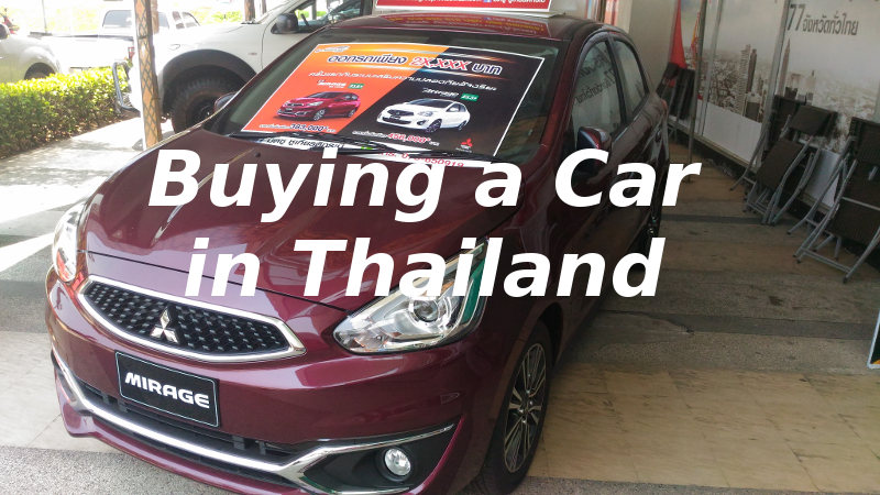 Buying a Car in Thailand