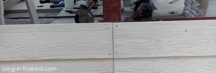 Building a cheap house with wall panels