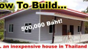 How to buind a cheap house in Thailand