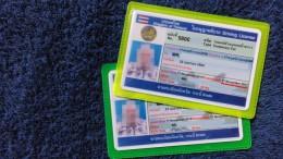 Thailand Driver's License