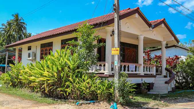 House for rent Thailand 8000 Baht