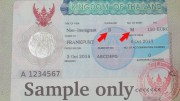 Thai Business Visa - Non Immigrant B