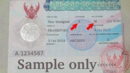 Thai Business Visa - Non Immigrant B