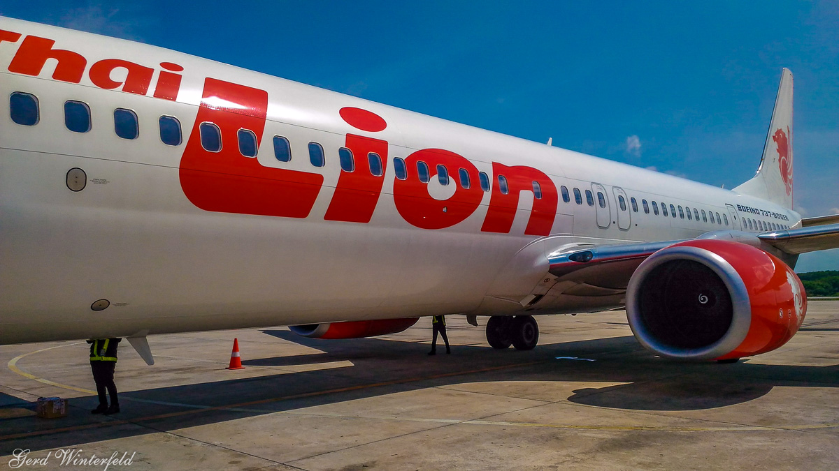 Thai Lion Air Boeing 737-900
