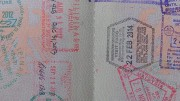 Immigration Stamps Thailand